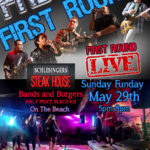 First Round LIVE at Schlesinger's Sunday Funday May 29th 5pm